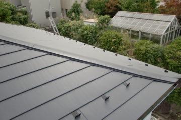 屋根工事(瓦→金属屋根)