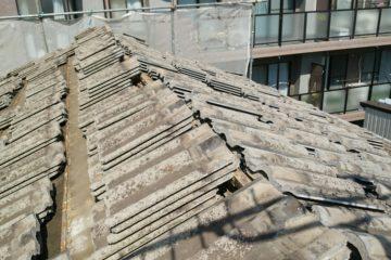 屋根工事(セメント瓦→金属屋根)