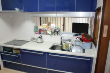キッチン取替工事